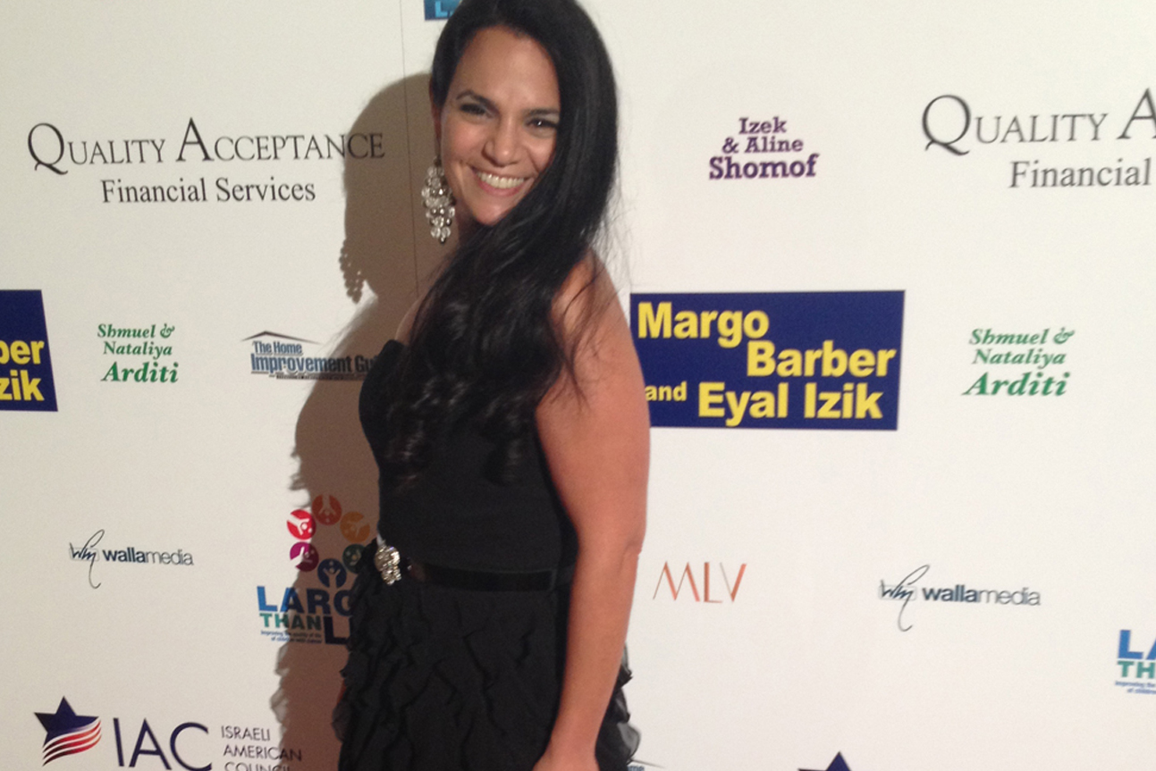 Gilat Rapaport at the Larger Than Life Annual Gala 2